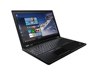 Lenovo ThinkPad P50 Laptop Computer 15.6 inch FHD IPS Screen, Intel Quad Core i7-6700HQ, 8GB RAM, 500GB Solid State Drive