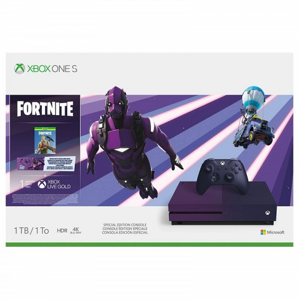 Xbox One S 1TB Fortnite SE Bundle  - Xbox One S Edition