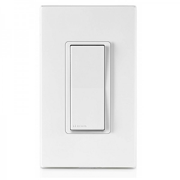 Leviton DZ15S-1BZ Decora Smart Z-Wave Plus On/Off Wall Switch
